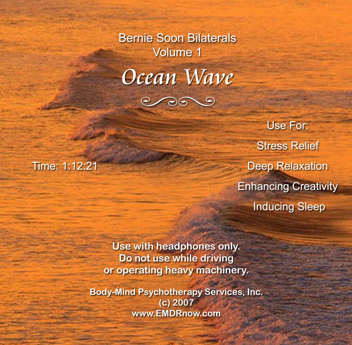 EMDR_Bilateral_CD_Vol1_Ocean_Wave