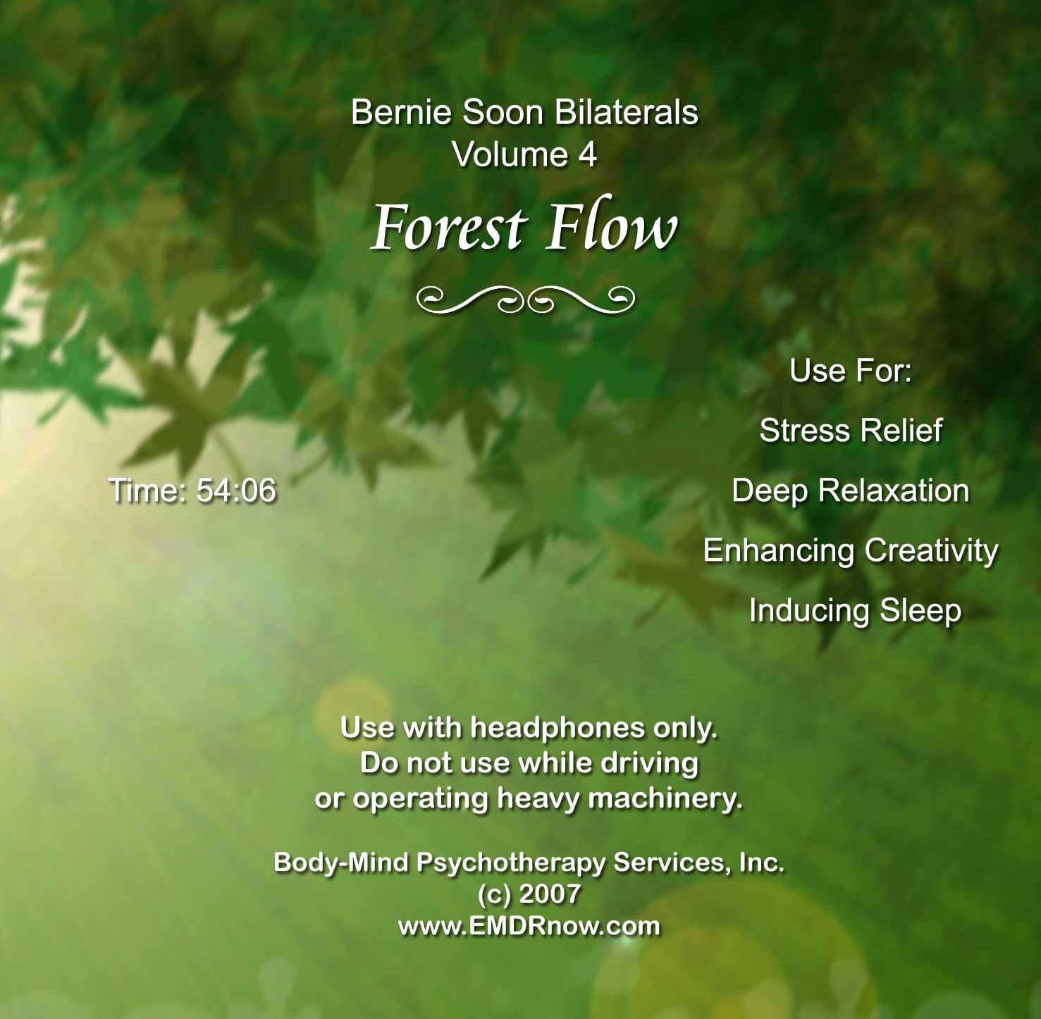 EMDR Bilateral CD Vol. 1 Forest Flow