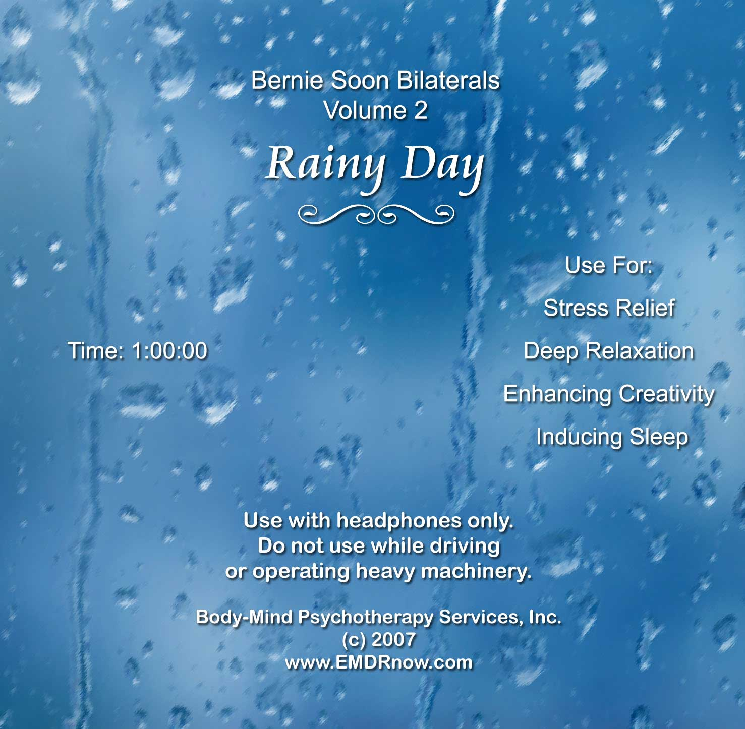 EMDR Bilateral CD Vol. 2 Rainy Day
